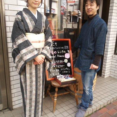 Rental Kimonos in Historic Kurashiki City