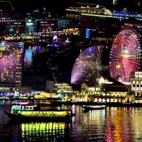 橫濱的聖誕燈飾