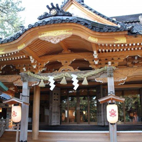 神社寺廟的禮儀