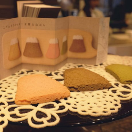 富士山餅乾