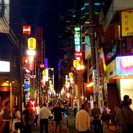 仙台國分町的夜生活