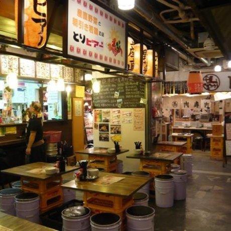 肉類美食的主題公園——澀谷肉橫丁