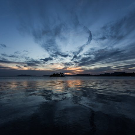 宍道湖夕陽