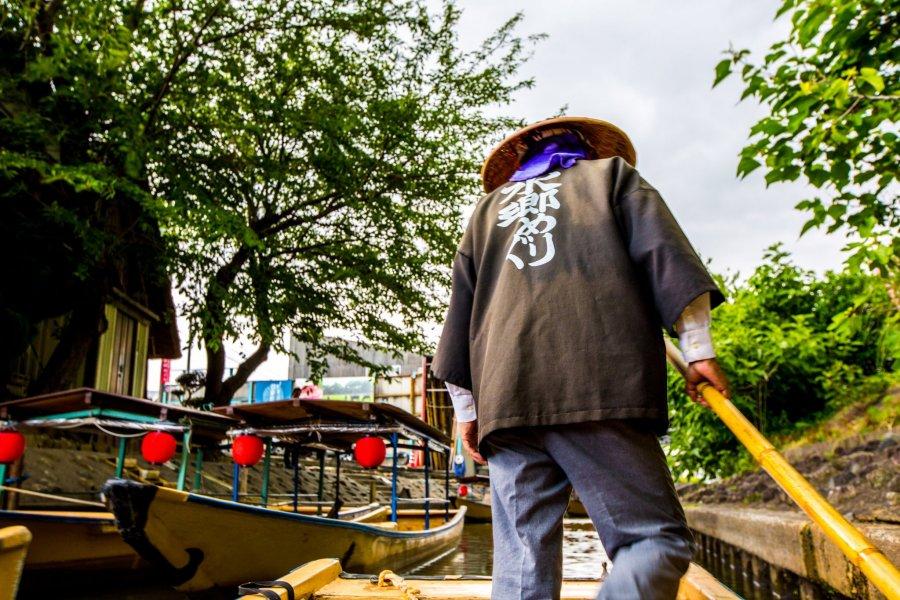 八幡堀遊船觀光