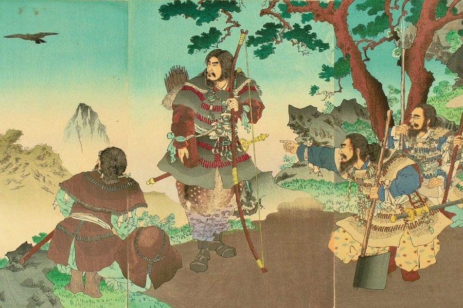 八咫烏(やたがらす Yatagarasu)