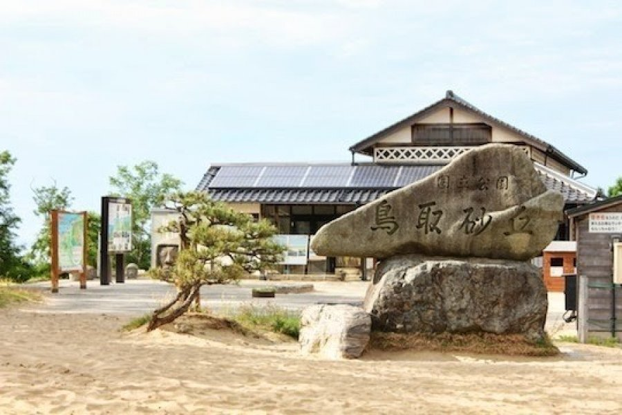 砂與風的夢幻鄉:鳥取砂丘・砂の美術館