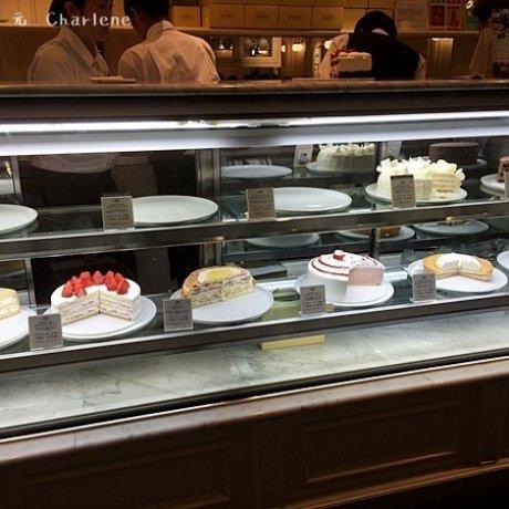 高人氣甜點店HARBS‧蛋糕真的很大